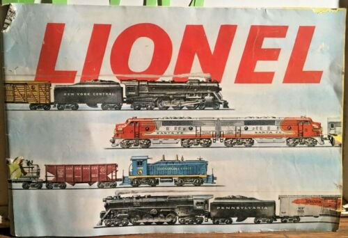 1953 Lionel Catalog Full Color 40 Pages