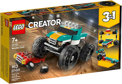 LEGO Creator 31101 Monster Truck 3 in 1 Dragster NEW + Free Shipping