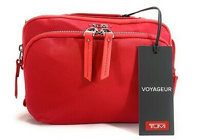 Tumi Voyageur Luanda Flight Bag Hot Pink Shoulder Bag Crossbody