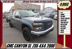 2006 GMC Canyon SL Z85 4X4 A/C MP3