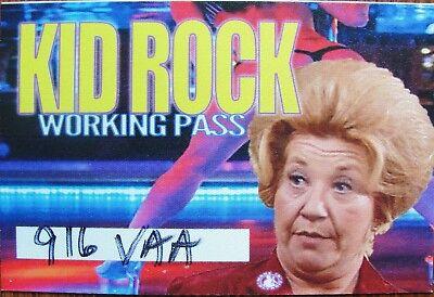 KID ROCK ~ Exclusive Backstage Pass 2017 Tour - Soft Patch