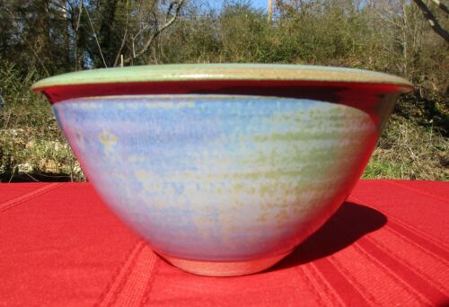 Louis Mulcahy Signed Pottery Bowl, Dingle Peninsula Ireland