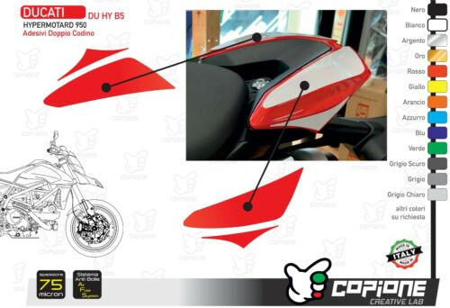Graphic For DUCATI Hypermotard 950 Pigtail - Du Hy B5
