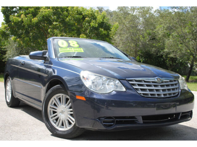 2008 Sebring Touring 2 7l V6 Convertible Aut Trans Clean Title No Reserve Used Chrysler