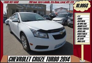 2014 Chevrolet Cruze TURBO BLUETOOTH USB