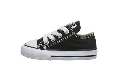 Converse Chuck Taylor All Star Low Top Infant Toddler Babies Canvas Shoes Black - Chuck Taylors Baby