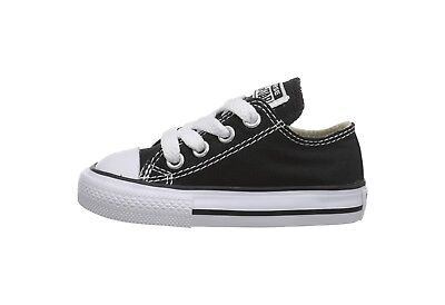 Converse Chuck Taylor All Star Low Top Infant Toddler Babies Canvas Shoes Black](Chuck Taylors Baby)