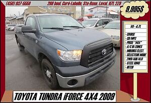 2009 Toyota Tundra iFORCE V8 4X4 CRUISE