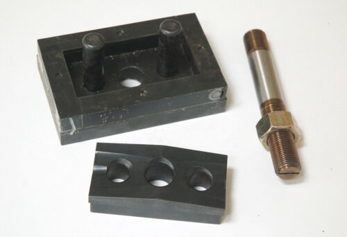 """Large Rectangular Punch and Die Set 1-13/16"""" x 3-5/8"""""""