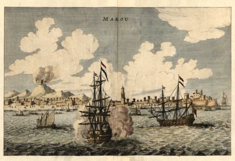 Macau Makou China 1660