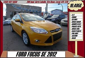 2012 Ford Focus SE A/C CRUISE CD/MP3