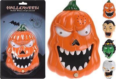 Spooky Halloween Light Up Talking Doorbell Wireless Halloween Trick or Treat - Wireless Halloween Doorbell