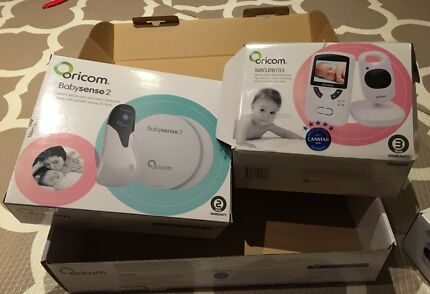 BabySense2 Oricom Infant Breathing Monitor & Video Monitor