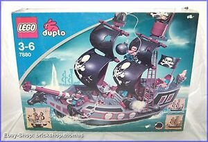 Lego Duplo 7880 - großes Piratenschiff - Big Pirate Ship - RAR - NEU OVP