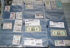 100-SLEEVES-POCKET-PAGE-VARIETY-PACK-for-COUPON-BINDER-ORGANIZER-BASEBALL-CARDS