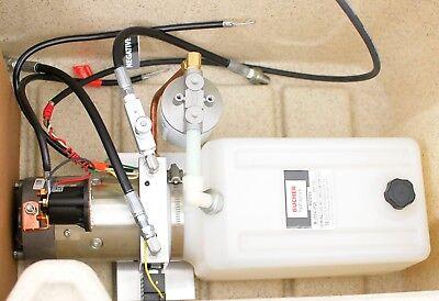 Hewitt Hydraulic Pump Box For 8100 Lifts 12v Dc Power Unitpumpcontrolschest