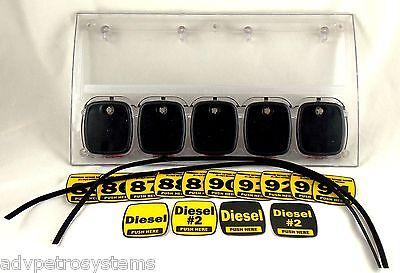 New Dresser Wayne 888006-005 Ovation 5 Prod Pts Panel Assy. Complete Wbuttons