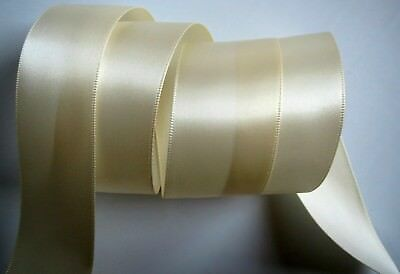 RIBBON Ivory Satin Soft & Shimmery ~ So Pretty For Your Crafts, Bows, Wedding