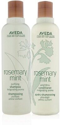 Aveda rosemary mint purifying shampoo and weightless conditioner 8.5 oz Duo