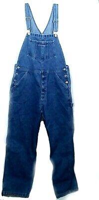 Vintage Overalls & Jumpsuits ARIZONA JEAN CO Jeans Bib Overalls Size Large $25.00 AT vintagedancer.com