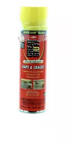 Great Stuff Gaps & Cracks 16oz Filler Foam Insulation Window
