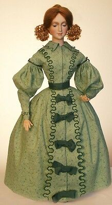 1830's French Fashion With a Hat Sewing Pattern for 24 Inch  Doll #88