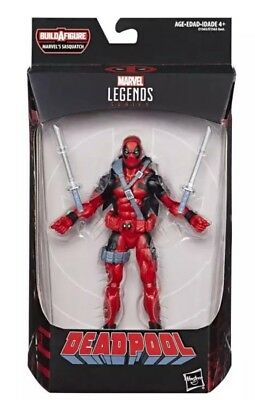 Marvel Legends Deadpool 6 Inch Action Figure  Sasquatch Wave - Presale
