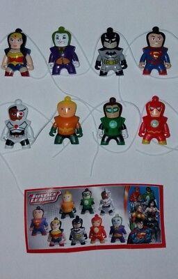 Neu Komplettsatz Justice League aus Russland allen  BPZ SE634 - SE640 SE657