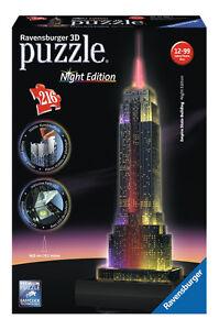 Ravensburger 612566 Empire State Building Night 3d Puzzle günstig kaufen