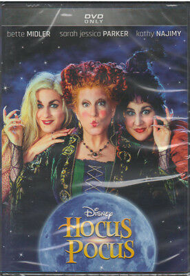 HOCUS POCUS (DVD, 2018, 25th Anniversary Edition) NEW