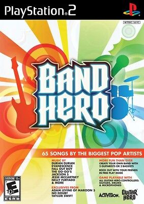 Band Hero    Jeux Playstation 2   Complet   Cib