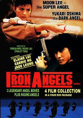 Moon Lee & Yukari Oshima IRON ANGELS 4 Film Collection DVD w/English subs NEW