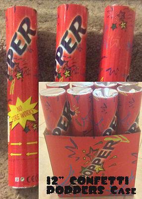 """12"""" Multi-Color Confetti Cannon Shooter Party Popper Confetti Cannon 2PACK"""