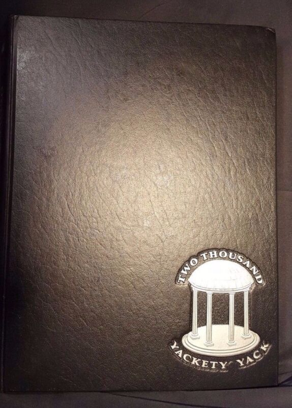 Yackety-Yack 2000 University of North Carolina Chapel Hill Yearbook