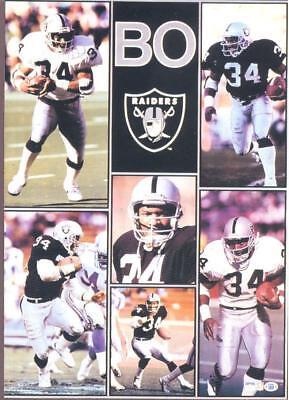 MONSTER POSTER: NFL FOOTBALL - BO JACKSON - LA RAIDERS - #PW-SLMP-BJ   RAP131 C