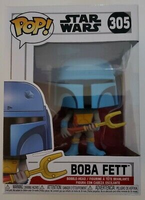 NEW - Funko Pop! - Boba Fett (Animated) #305 Collectors Club Gamestop Exclusive