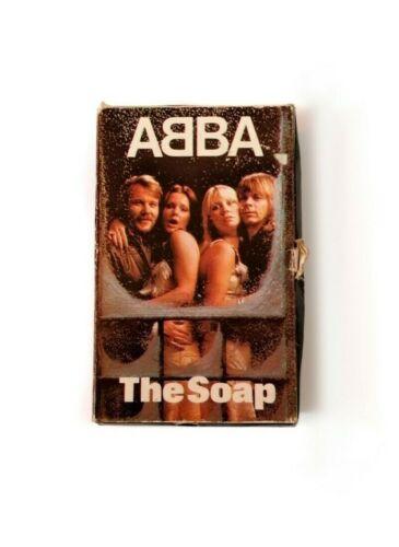 ABBA vintage soap, ABBA souvenir, ABBA group, ABBA soap, photo ABBA collection