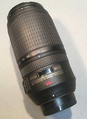 Nikon Nikkor 70-300mm 1:4.5-5.6 AF-S G ED VR, sehr gut, OVP