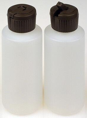 Plastic Bottles Wapplicator Lids 2-oz. 12-pack New