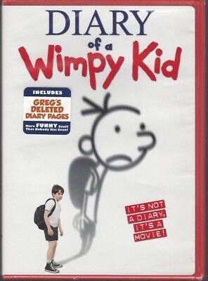 DIARY OF A WIMPY KID (DVD, 2010, Zachary Gordon/Robert Capron/Steve Zahn) -