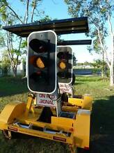 2011 Giga Signs Portable Traffic Lights Trailers PTL2 Solar LED Maryborough West Fraser Coast Preview
