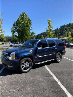 2007 Cadillac Escalade SUV Blue AWD Automatic LUXURY