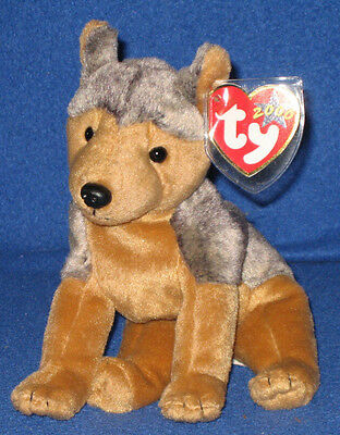 TY SARGE the GERMAN SHEPHERD DOG BEANIE BABY - NEW - MINT TAGS, used for sale  Shipping to Canada