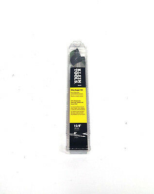 Klein Tools Ship Auger Bit With Screw Point 1-38 35 Mm X 4 102 Mm 53410