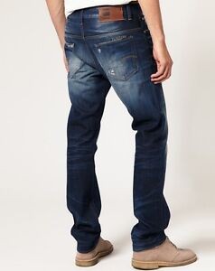 G-Star Raw Mens Boys 3301 Tappered Jeans 26