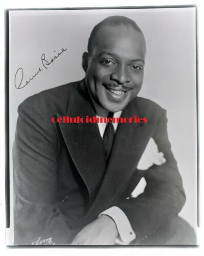 COUNT BASIE - Jazz / Big Band Black & White Negative - Great Image - Piano
