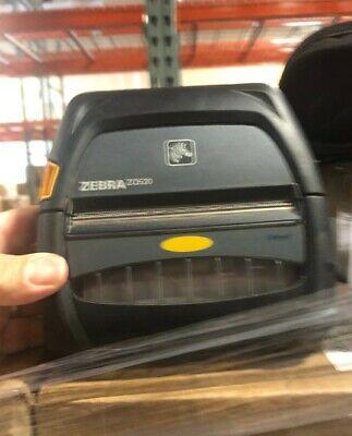 Zebra Zq520 Mobile Bluetooth Printer Pn Zq52-aue0000-00 Battery Free Shipping