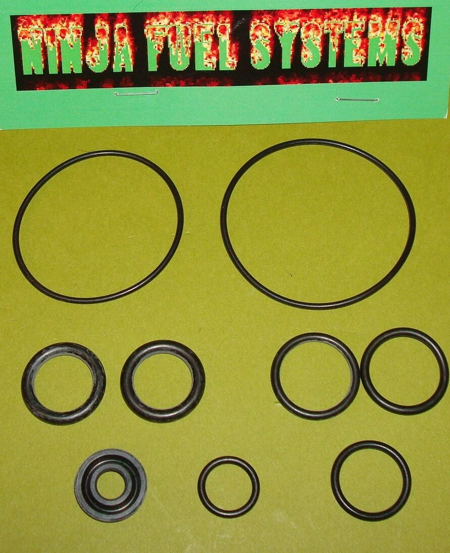 Barry Grant Fuel Pump Seal Kit All Pumps 220 280 400 Pre 2006 W/ Black Seal