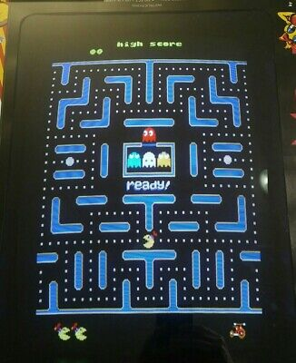 Jr Pac-Man Original Arcade PCB Board, Fully Tested and Working, Original Speed