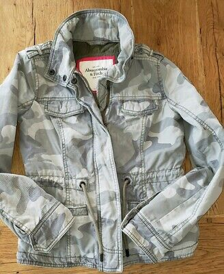 Abercrombie and Fitch Jacket -  XS Green Camo